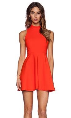 Elizabeth and James Elle Dress in Tangerine