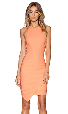 Elizabeth and James New Claire Dress in Neon Peach