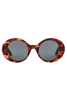 Elizabeth and James Boylston Sunglasses in Red Brown Smoke
