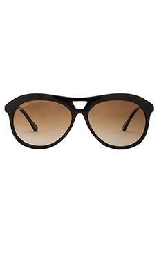 Elizabeth and James Houston Sunglasses in Black