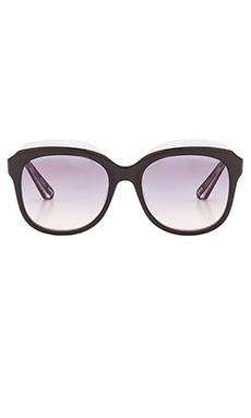 Elizabeth and James Whitley Sunglasses in Black & Grey