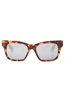 Elizabeth and James Stockton Sunglasses in Brown & Cream