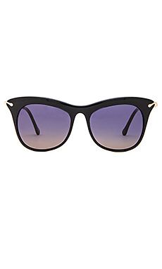 Elizabeth and James Fairfax Sunglasses in Black