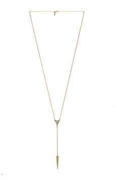 Elizabeth and James Valencia Lariat Necklace in Yellow Gold