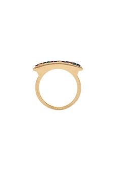 Elizabeth and James Arbus Ring in Multi Color Sapphires