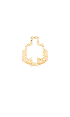 Elizabeth and James Kota Ring in Yellow Gold