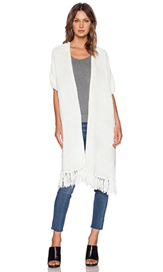 Elizabeth and James Mavericks Serape in Ivory