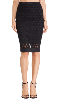 Elizabeth and James Cooper Skirt in Black