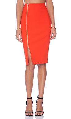 Elizabeth and James Lionna Skirt in Tangerine