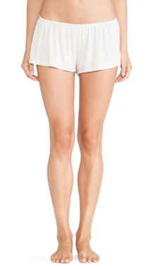 eberjey Lady Godiva Shorts in Pearl Grey