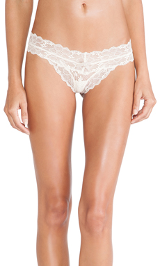 eberjey Tallulah Thong in Cream