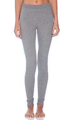 eberjey Cozy Time Legging in Heather Grey