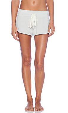 eberjey Heather Shorts in Silver