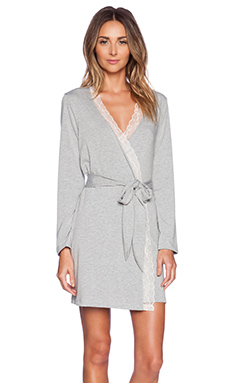 eberjey Quinn Robe in Heather Grey