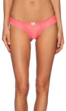 eberjey Estelle Thong in Pink Glow