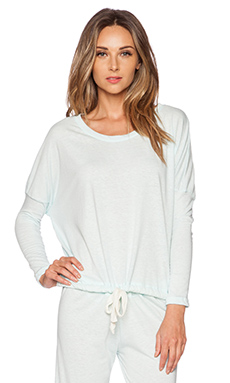 eberjey Heather Slouchy Tee in Sky