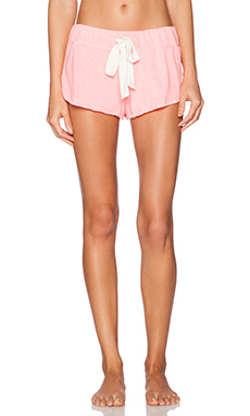 eberjey Heather Shorts in Pink Glow
