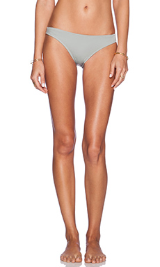 eberjey Solid Allie Bikini Bottom in Seagull