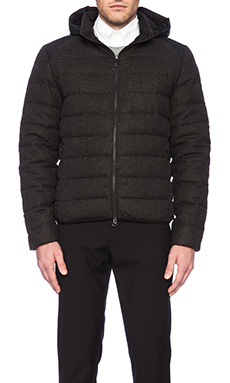 ECOALF Aspen Jacket in Black/ Wool