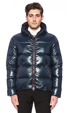 ECOALF Vail Down Jacket in Midnight Navy