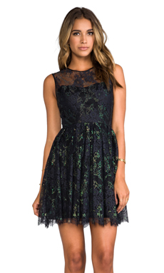 ERIN erin fetherston Delia Dress in Black