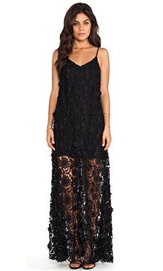 ERIN erin fetherston Lillian Maxi Dress in Black