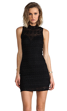 Eight Sixty Lace Dress in Black