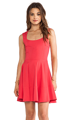 Eight Sixty Cap Sleeve Dress in Coral