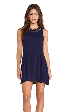 Eight Sixty Scoop Dress in Navy