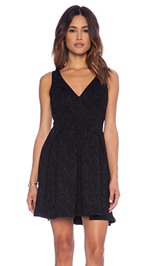 Eight Sixty Broque Dress in Black