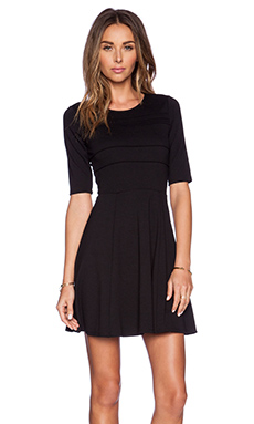 Eight Sixty Short Sleeve Dress in Black