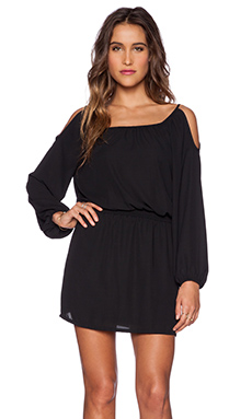 Eight Sixty Cold Shoulder Dress in Black