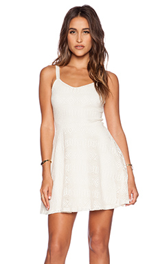 Eight Sixty Crochet Lace Dress in Ivory