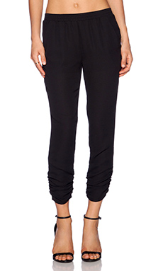 Eight Sixty Rouged Pant in Black