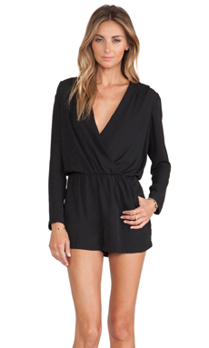 Eight Sixty Romper in Black