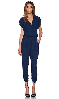Eight Sixty Crossfront Jumpsuit in Navy