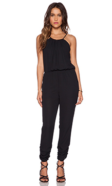 Eight Sixty Necklace Jumpsuit in Black