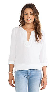 Eight Sixty Blouse in White