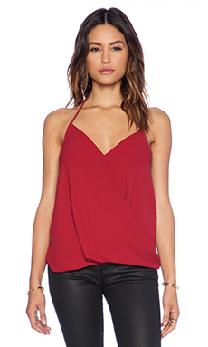 Eight Sixty Halter Top in Bing Cherry
