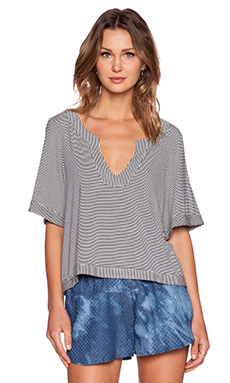 Erin Kleinberg Goods Blouse in Navy
