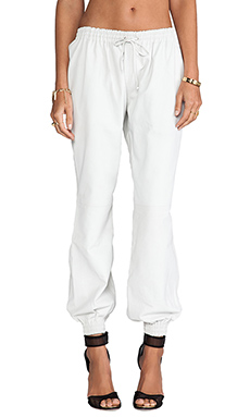 Elliott Label The Ballin Track Pant in White