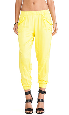 Elliott Label Splice Slouch Pant in Splice