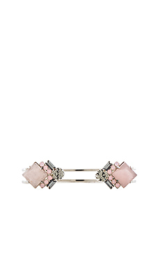 Elizabeth Cole Kelsey Bracelet in Rose Quartz