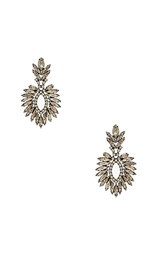 Elizabeth Cole Beverly Earring in Crystal