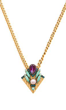Elizabeth Cole Eris Necklace in Multi