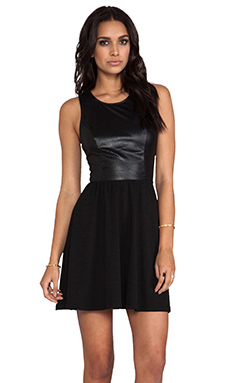 Ella Moss Tabitha Tank Dress in Black