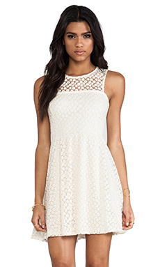 Ella Moss Taylor Lace Dress in Natural