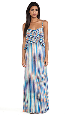 Ella Moss Bondi Maxi Dress in Azure