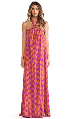 Ella Moss Moselle Maxi Dress in Tangerine