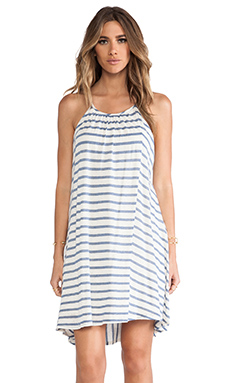 Ella Moss Seaside High-Lo Dress in Azure